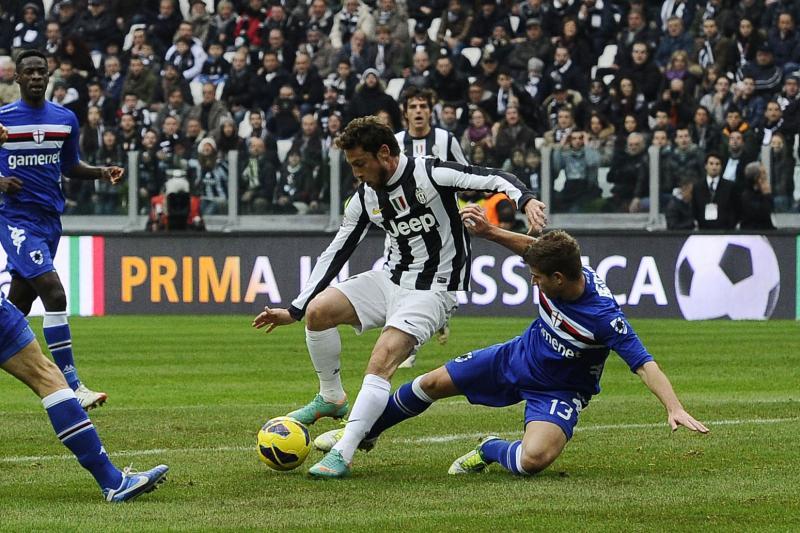 Juventus+Sampdoria+Marchisio