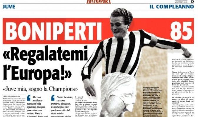 Boniperti implineste astazi 85 de Primaveri. poza @tuttosport