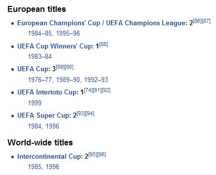 Juventus-European-Cups