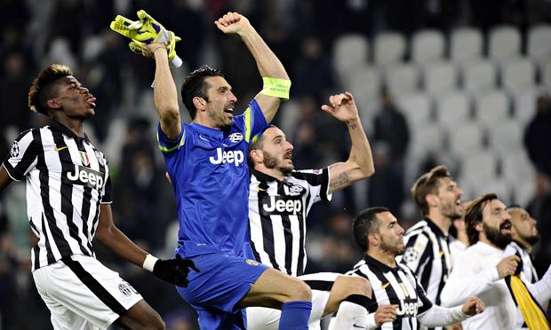 Juventus' captain Buffon
