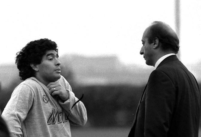 Luciano Moggi Diego Maradona