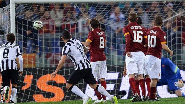 Roma - Juventus 1-1 Rezumatul