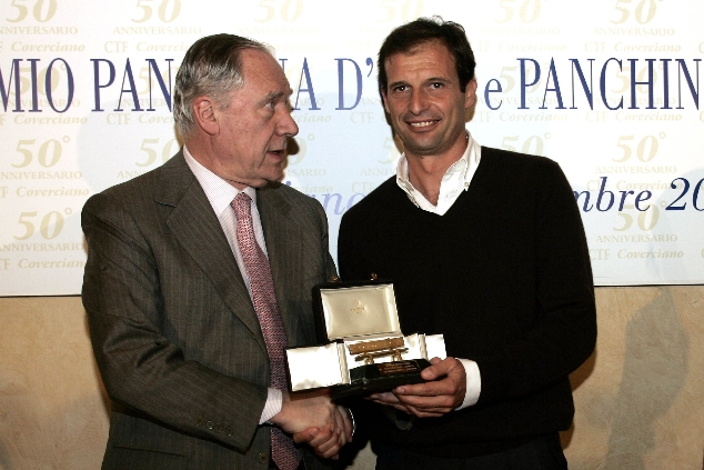 Allegri panchina d'oro