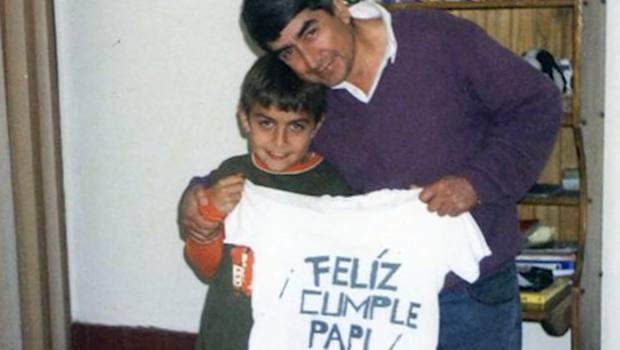 Dybala con papà Adolfo